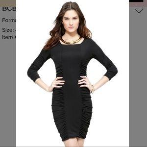 BCBGMAXAZRIA Janeeva Ruched-Side Jersey Dress